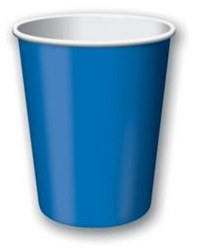 Blue Hot/Cold Cups (24/pkg)