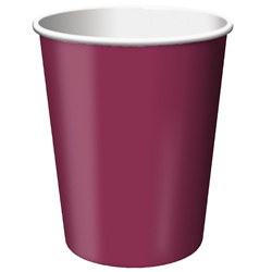 Burgundy Hot/Cold Cups (24/pkg)