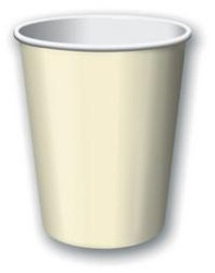 Ivory Hot/Cold Cups (24/pkg)