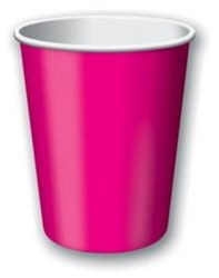 Magenta Hot/Cold Cups (24/pkg)
