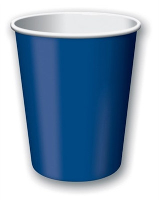 Navy Hot/Cold Cups (24/pkg)