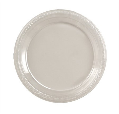 Clear Plastic Lunch Plates (20/pkg)