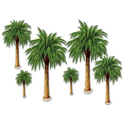 palm tree props - Luau Decorations