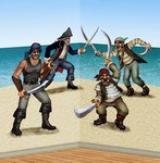 Dueling Pirate and Bandit