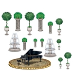 Black-Tie Piano and Decor Props (15/Pkg)