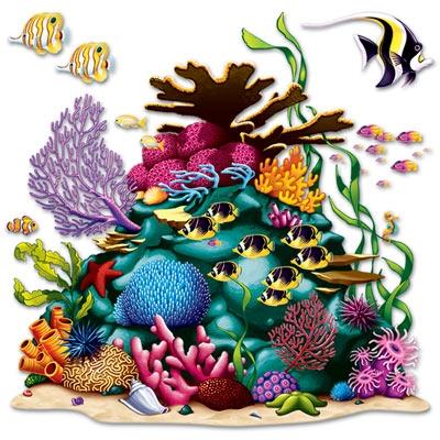 coral reef prop - Luau Decorations