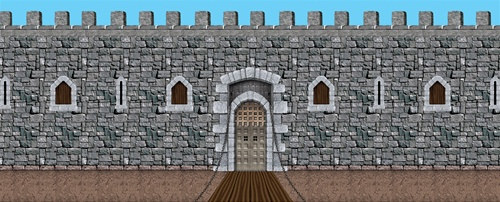 Castle Door ... & Castle Door and Window Props (9/pkg) - PartyCheap