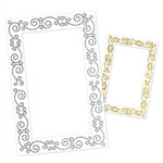 Glittered Photo Fun Frame