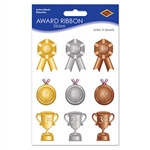Award Ribbon Stickers