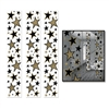 Add some emphasis on star quality at an awards night or VIP theme party by decorating with these fancy Star Party Panels. The panels feature black and gold stars of varying sizes. Each panel measures 12 inches wide by six feet tall. Comes 3 per pack
