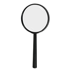 Do your best Sherlock Holmes impression or give this Magnifying Glass to someone over the hill as a birthday gag gift. It's a fully-functioning, durable Magnifying Glass that measures nine inches. Comes one Magnifying Glass per package.