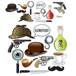 Whether you're decorating for a murder mystery party or want to look like Sherlock Holmes in your new profile picture, our Sherlock Holmes Photo Fun Signs will do the trick. Just hold the prop up and have someone take your picture! 12 signs per package.