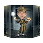 Our Sherlock Holmes Photo Prop is an awesome party supply for a murder mystery party! Once you've determined the criminal, have a friend take your picture in this photo prop! It's that simple! It measures 37 inches by 25 inches. Comes one per package.