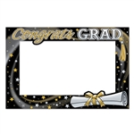 Celebrate a loved one's graduation by taking some pictures at the graduation party with our Graduation Photo Fun Frame. The photo fun frame measures 15.5 inches by 23.5 inches and the fun design makes the photo that much better! Comes one per package.
