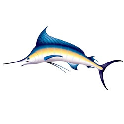 Giant Marlin Party Prop
