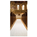 White Wedding Aisle Runner