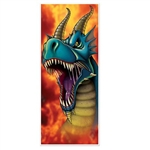 The Dragon Door Cover is made of thin all-weather plastic and is printed on one side. Measures 30 inches wide and 6 feet tall. Can be used both indoors and outdoors. Contains one (1) per package.