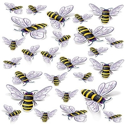 """Bee"" the buzz of the neighborhood when you make your own, friendly, swarm with these 26 bee cutouts!"