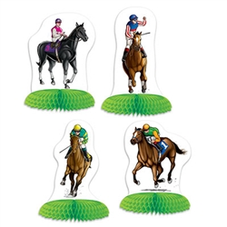 Horse Racing Mini Centerpieces