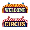 Circus Sign Cutouts