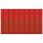 Our Lockers Backdrop is a fantastic prop for class reunions, back to school events, school registration drives, play, productions, photo booths and more. ​Printed on plastic, this Insta-Theme backdrop is suitable for indoor or outdoor use.