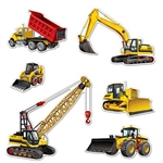 Building a great party is easy when you decorate with the great Construction Equipment Cutouts.