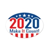 Get set for 2020, and Make It Count with our 2020 Make It Count! Peel 'N Place. Easy to use! Adheres to most clean, smooth surfaces, reusable!