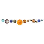 Out of this world - that's what your guests will say when they see this 8' long Solar System Streamer!