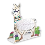 Put a llama on your table without making a mess with this adorable Llama Centerpiece!  Completely assembled, printed on high quality cardstock and opens full round.