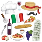 This 15 piece package of Italian Photo Fun Signs is sure to bring a smile to your guest's faces when there snapping selfies and party picks.  Each sign is printed both sides on high quality cardstock in vibrant color.
