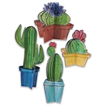 Your guests will love the fun style these 3-D Cactus Centerpieces add to your party decor.  Printed both sides on high quality cardstock, after simple assembly, you'll want to keep these on display even after the party ends!