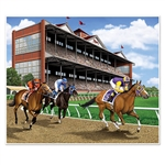 Give your party venue a classic horse racing track look with this 5 foot by 6 foot Horse Racing Photo Op Insta-Mural.  Your guests will be able to post the perfect Instagram and Facebook pictures!  Easy to hang using tape, tacks, pins or staples.