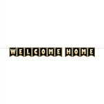 Welcome your loved one home in classic style with this Welcome Home streamer.  Letter cards are 6 inches tall by 4.5 inches wide, printed on-side on high quality cardstock.  12 feet of cord included for hanging.  Simple assembly required.