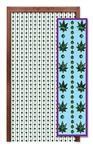 Celebrate and party in style with this Weed Bead Curtain.  Great for themed parties like Hippies, 60's or 70's, or to celebrate a change in the law you supported . . . or just for fun!  Each curtain is easy to hang, is 24 inches wide and 6.5 feet long.