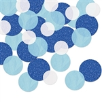 Want a different, softer look in confetti?  This Dot Deluxe Sparkle Confetti - Blue & White is a great choice!  Perfect for 1st birthdays, It's a boy/girl reveals and more.  Sold in 0.5 ounce packages.  Also looks great in scrap books and i art projects!