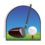 Hosting a golf themed event and looking for decorating ideas?  Start with this 3-D Golf Centerpiece!  This 9 inch tall centerpiece is printed both sides in vibrant color to add interest and depth to your table decorations.  Sold one per package.