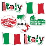 Having a spaghetti dinner fund raiser, throwing an Italian themed party, sending someone off on a dream Italian vacation?  Add these Italian Cutouts for the perfect finish to your party decor.  Printed both sides on high quality cardstock.