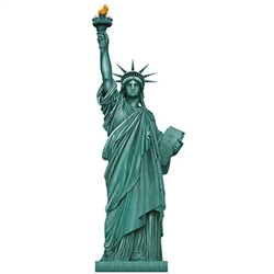 Lady Liberty - a classic symbol of the opportunity in America that has welcomed people to the country since 1886.  Now you can welcome your guests with this iconic Jointed Statue Of Liberty.  Standing a full 5 feet tall and completely assembled.