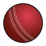 This Cricket Ball Cutout is a colorful and fun addition to your British themed party decor.