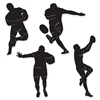 Planning a British or Rugby themed party?  Recruiting for a local Rugby team?  Looking for a British theme to add to a bar, den or game room?  These Rugby Player Silhouettes may be just what you're looking for!  Each package includes 4 silhouettes.