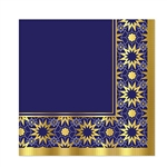 Perfect for morning or evening meals, these richly colored, gold foil embossed napkins will be an appreciated added touch for family and friends.  Sold 16 2-ply napkins per package.  Napkins are 12.88 inches square.