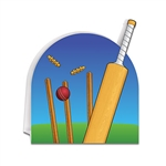 Get your wickets in a line and celebrate a classic sport - throw a Cricket themed party!  Pair your Cricket themed items with British or Australian themes for an authentic feel. This 3-d centerpiece stands 9.75 inches tall by 8.75 inches wide.  P
