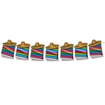 No matter what day it is, it's a great day for a Fiesta!  This bright, vibrant Fiesta Streamer is sure to set the right mood for your next office Taco Tuesday, Cinco de Mayo or South of the Border themed celebration!  Sold one streamer per package.