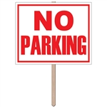 No Parking Yard Sign