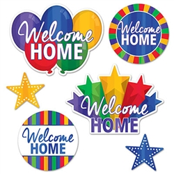 Foil Welcome Home Cutouts