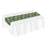 Palm Leaf Fabric Table Runner