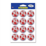 England Soccer Stickers (2 Sheets Per Package)