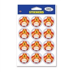 Spain Soccer Stickers (2 Sheets Per Package)