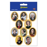 Historic Famous People Stickers