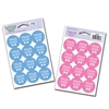 Gender Reveal Team Blue/Team Pink Stickers